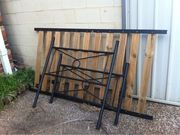 Single Bed Frame Black $69.00