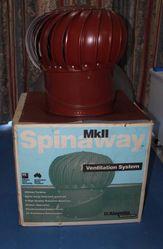 Spinaway roof ventilator (whirlybird)
