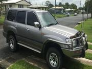 TOYOTA LAND CRUISER 2001 Toyota Landcruiser GXL Manual 4x4
